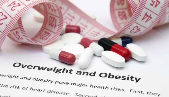 Antidiabetes medications are more commonly prescribed than anti-obesity drugs.