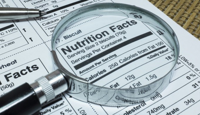 The Nutrition Facts label on packaged foods will be redesigned by the FDA.