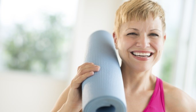 Yoga, Meditation May Relieve Menopause Symptoms After Breast Cancer