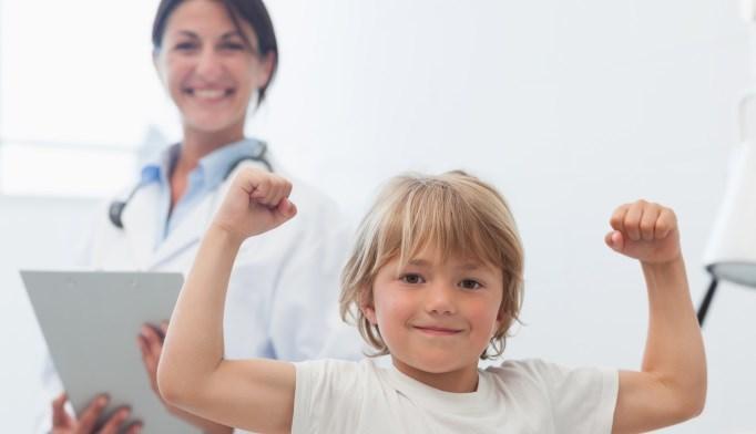 Muscle Mass Associated With Bone Development in Children