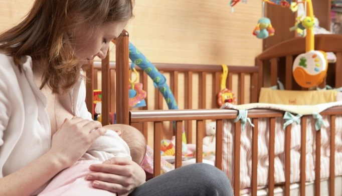Breastfeeding is linked to carotid intima-media thickness in women.