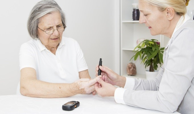 A patient's glycemic control appeared to decrease while improvements in osteoporosis were noted.