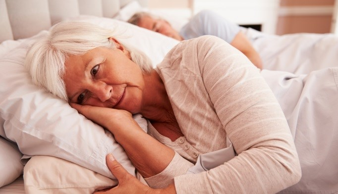 Researchers have found a link between sleeping problems and sexual satisfaction in older women.