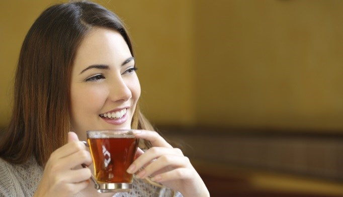 Those who drank 1 cup of tea daily had a decreased risk for major cardiovascular events.