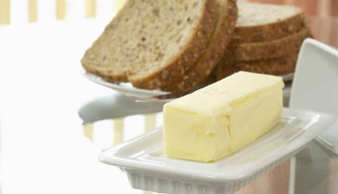 Health risks associated with butter consumption are less than previously thought.