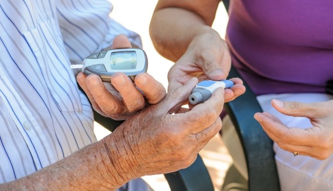 Patients with diabetes can benefit from encouragement from clinicians, spouses, and friends.