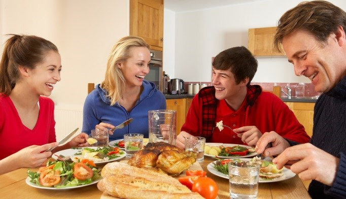 Focusing on a healthy lifestyle as opposed to weight prevents obesity and eating disorders in adolescents.