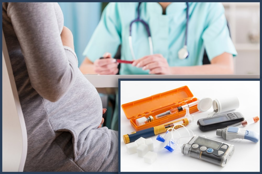 The researchers analyzed data from 554 women with preexisting diabetes from 5 clinical trials.