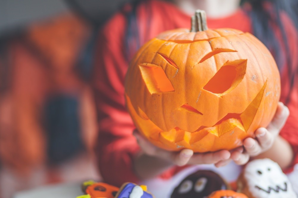 Parents are encouraged to discuss Halloween plans with their child.