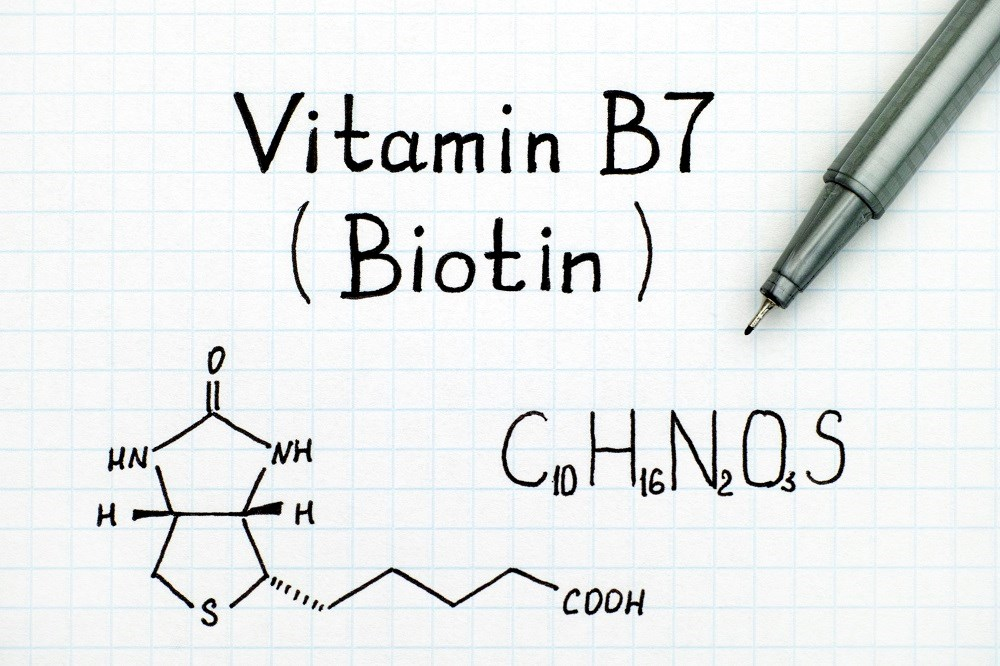Concentrations of biotin up to 1200 ng/mL may be present in specimens collected from patients taking up to 300 mg per day.