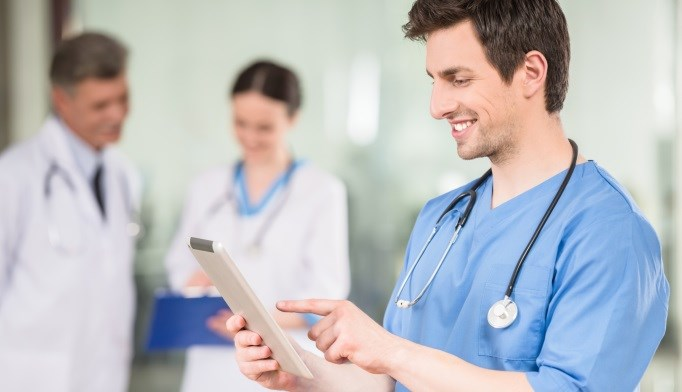 Medical students often use electronic health records to track the progress of their former patients.