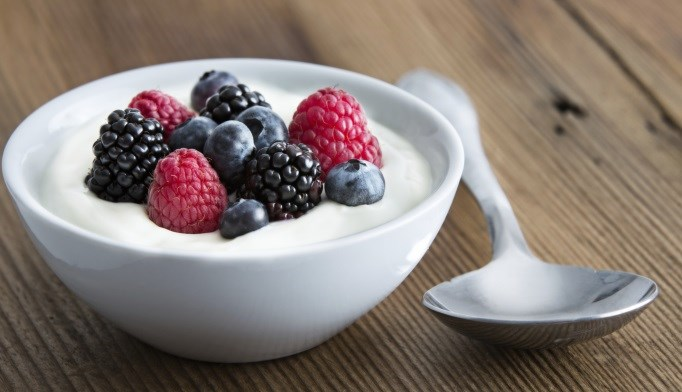 Eating yogurt may improve bone health.