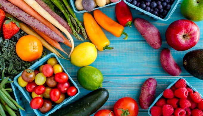 Older adults who eat less than 1 serving of fruit and vegetables may have a higher risk for hip fractures.