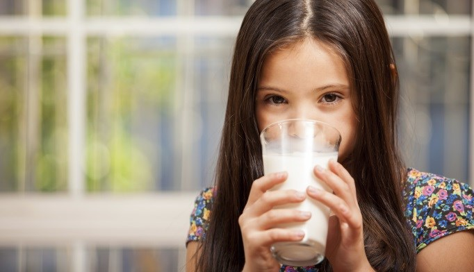 Bone mineral density appeared to be lower in children with a cow's milk allergy.