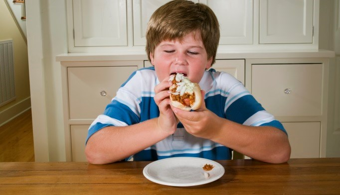 Adult obesity by age of 35 is likely in about 57% of today's children.