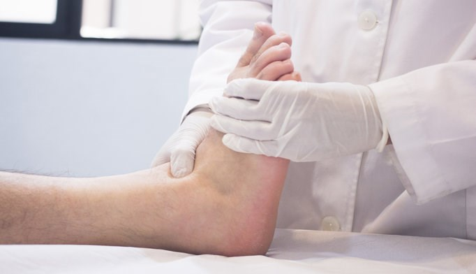Off-loading adherence is associated with healing for patients with diabetic foot ulcers.