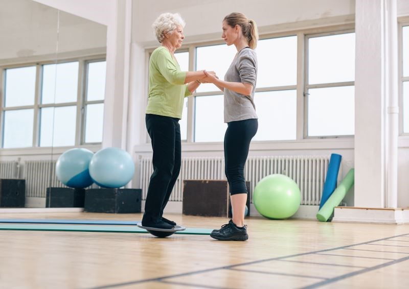 Balance Training May Reduce Fall Risk in Older Adults With T2D