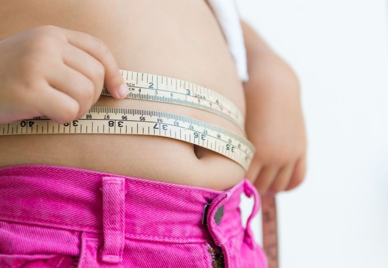 Rates of obesity were significantly lower for white and Asian-American children.