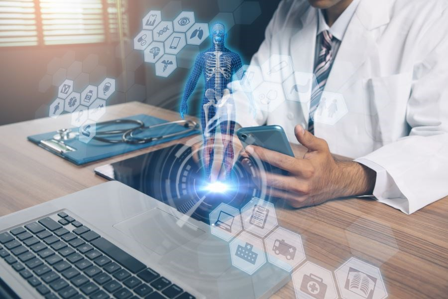 Improvements in digital technologies have enabled faster connection and communication between patients and providers.