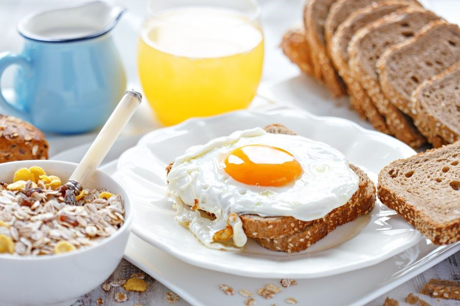Breakfast time mediates the association between morning-evening preference and BMI