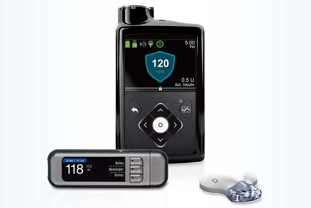The MiniMed 670G system automates and personalizes the delivery of basal insulin. <i>Photo courtesy of Medtronic.</i>
