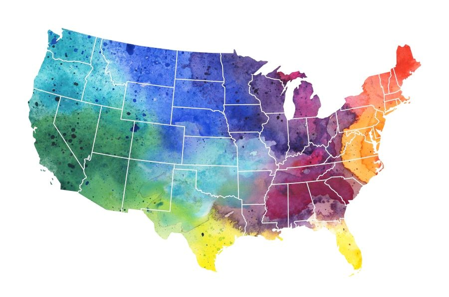 12 County-Level Factors Affect Resident Well-Being in the United States