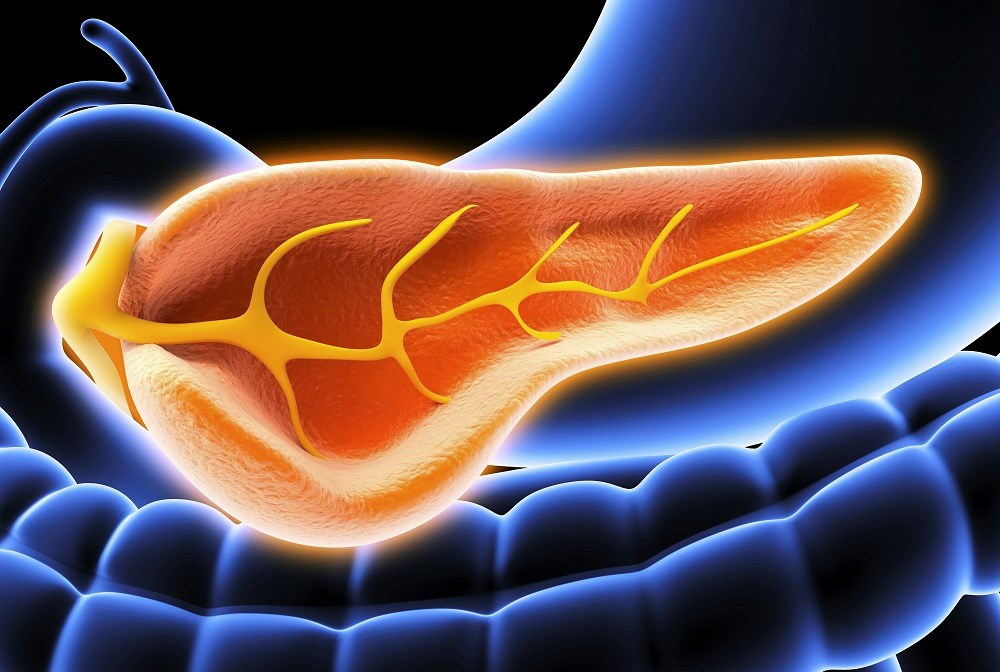 Human pancreatic polypeptide values were not significantly different in patients with tumors located in the head vs body or tail of pancreas.
