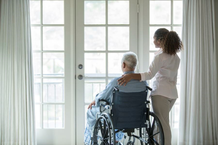 Caregiver burnout can create symptoms of stress and depression, negatively affecting both the patient and the caregiver.