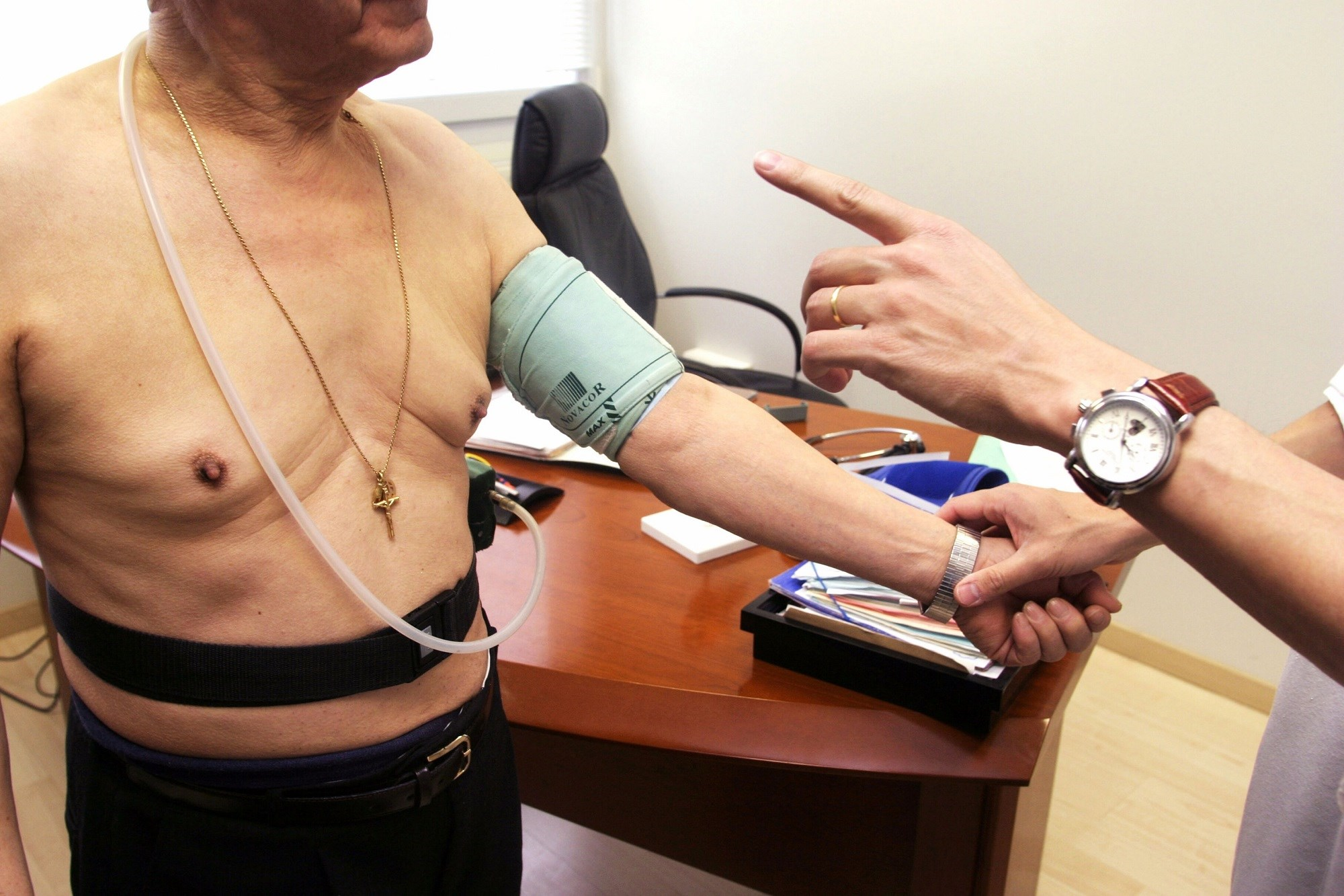 Masked High Blood Pressure and Arterial Stiffness in Type 1 Diabetes
