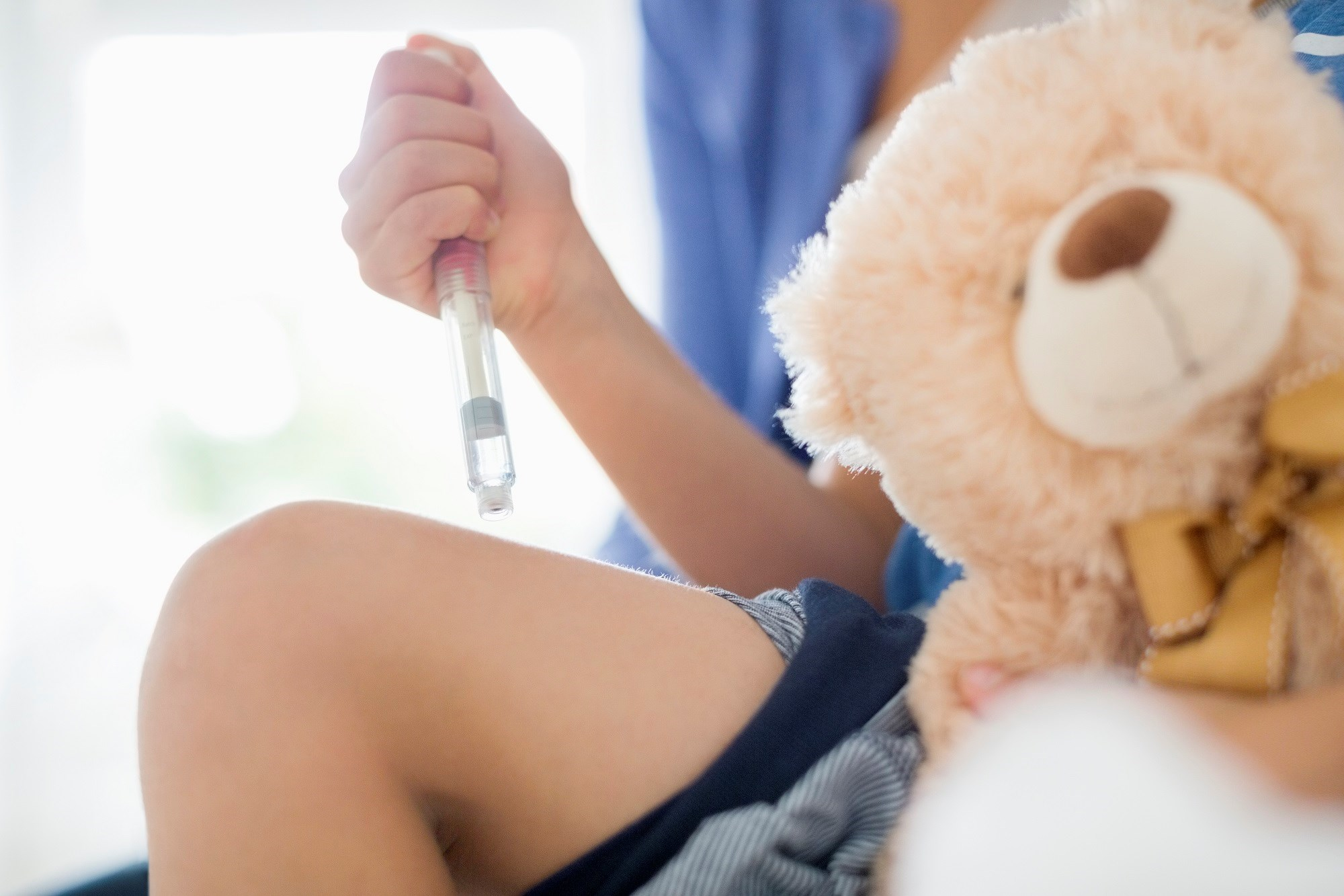 Children at increased risk for type 1 diabetes and who were enrolled in longitudinal follow-up before being diagnosed with diabetes have better metabolic control.