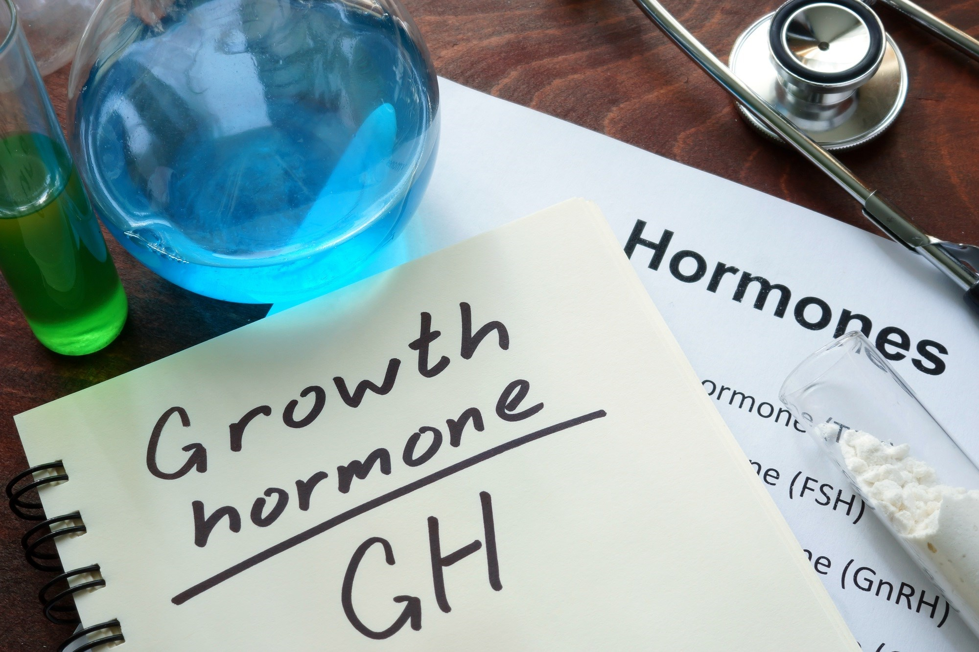 Researchers noted that growth hormone response to clonidine testing was not influenced by puberty.